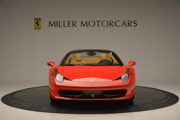 Used 2013 Ferrari 458 Spider for sale Sold at Maserati of Westport in Westport CT 06880 12