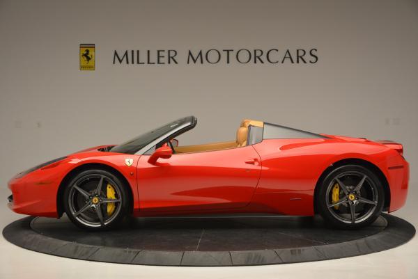 Used 2013 Ferrari 458 Spider for sale Sold at Maserati of Westport in Westport CT 06880 3