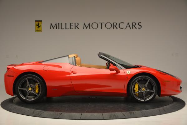 Used 2013 Ferrari 458 Spider for sale Sold at Maserati of Westport in Westport CT 06880 9