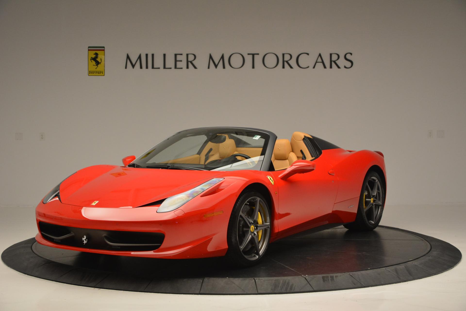 Used 2013 Ferrari 458 Spider for sale Sold at Maserati of Westport in Westport CT 06880 1