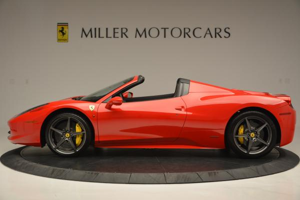 Used 2015 Ferrari 458 Spider for sale Sold at Maserati of Westport in Westport CT 06880 3