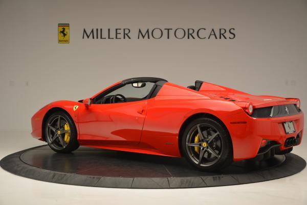 Used 2015 Ferrari 458 Spider for sale Sold at Maserati of Westport in Westport CT 06880 4