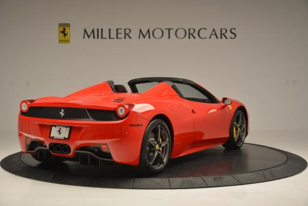Used 2015 Ferrari 458 Spider for sale Sold at Maserati of Westport in Westport CT 06880 7