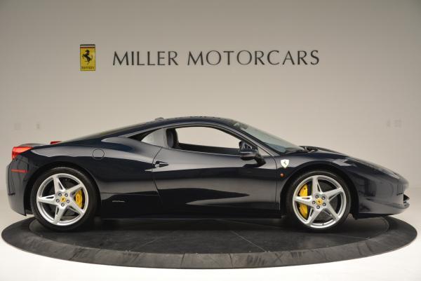 Used 2012 Ferrari 458 Italia for sale Sold at Maserati of Westport in Westport CT 06880 9