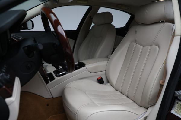 Used 2011 Maserati Quattroporte for sale $37,900 at Maserati of Westport in Westport CT 06880 16