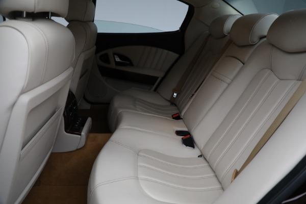 Used 2011 Maserati Quattroporte for sale $37,900 at Maserati of Westport in Westport CT 06880 19