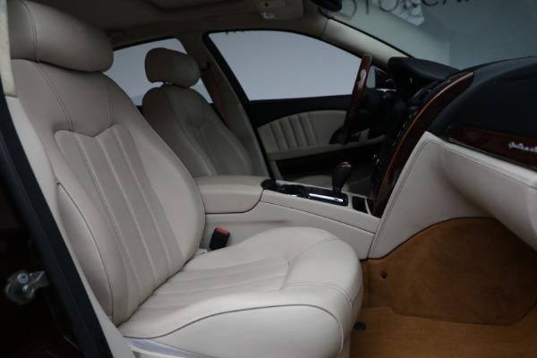 Used 2011 Maserati Quattroporte for sale $37,900 at Maserati of Westport in Westport CT 06880 23