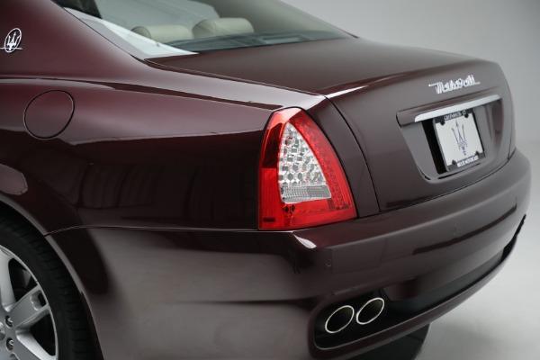Used 2011 Maserati Quattroporte for sale $37,900 at Maserati of Westport in Westport CT 06880 25