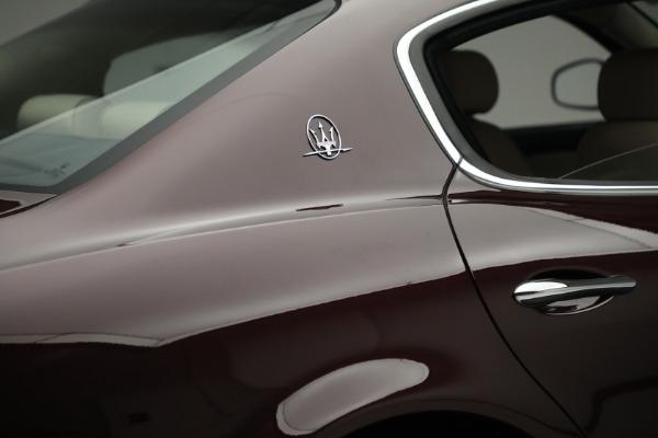 Used 2011 Maserati Quattroporte for sale $37,900 at Maserati of Westport in Westport CT 06880 26