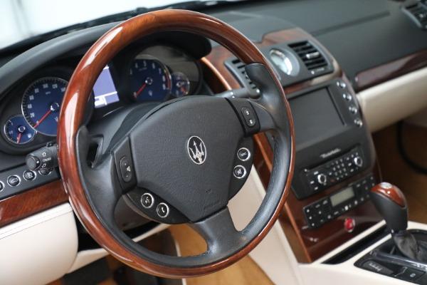 Used 2011 Maserati Quattroporte for sale $37,900 at Maserati of Westport in Westport CT 06880 27