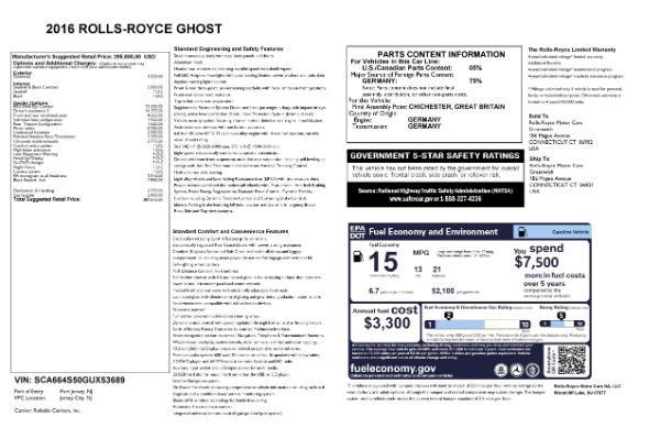 Used 2016 Rolls-Royce Ghost for sale Sold at Maserati of Westport in Westport CT 06880 28