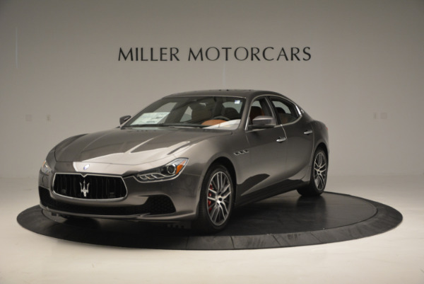 Used 2017 Maserati Ghibli S Q4  EX-LOANER for sale Sold at Maserati of Westport in Westport CT 06880 1