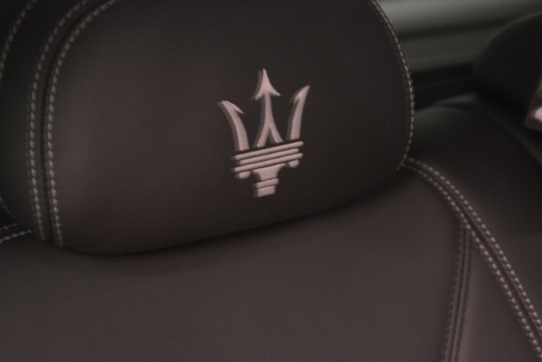 New 2017 Maserati Levante 350hp for sale Sold at Maserati of Westport in Westport CT 06880 28