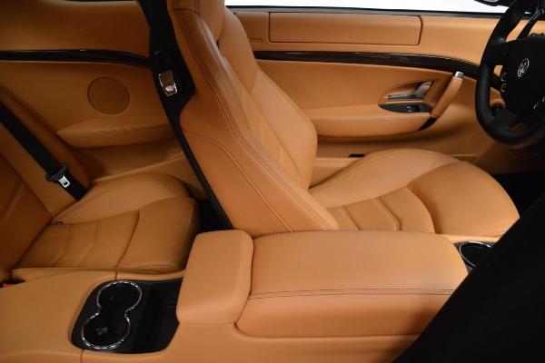Used 2017 Maserati GranTurismo Sport for sale $74,900 at Maserati of Westport in Westport CT 06880 22