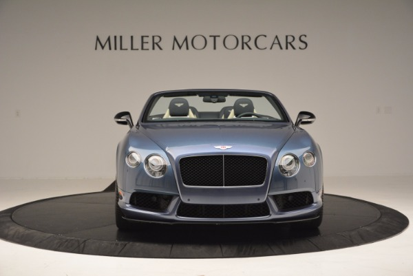 Used 2014 Bentley Continental GT V8 S Convertible for sale Sold at Maserati of Westport in Westport CT 06880 12