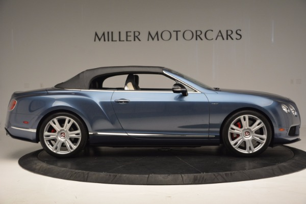 Used 2014 Bentley Continental GT V8 S Convertible for sale Sold at Maserati of Westport in Westport CT 06880 19