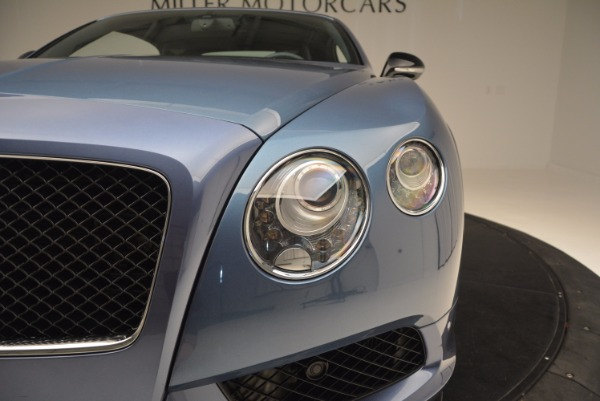 Used 2014 Bentley Continental GT V8 S Convertible for sale Sold at Maserati of Westport in Westport CT 06880 23