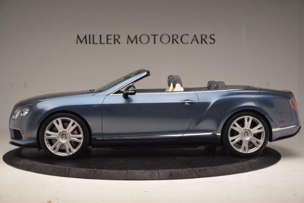 Used 2014 Bentley Continental GT V8 S Convertible for sale Sold at Maserati of Westport in Westport CT 06880 3
