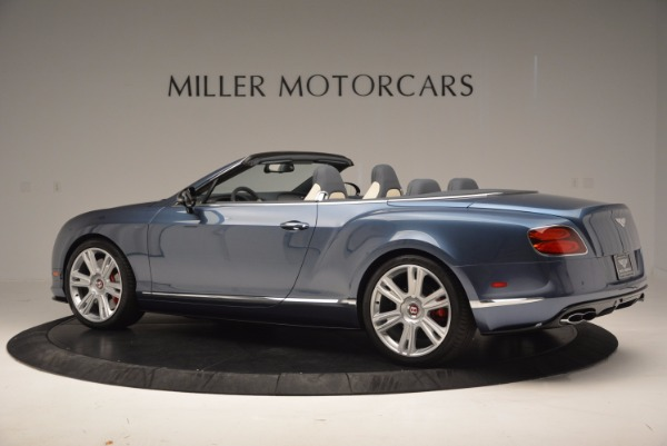 Used 2014 Bentley Continental GT V8 S Convertible for sale Sold at Maserati of Westport in Westport CT 06880 4