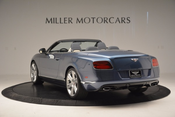 Used 2014 Bentley Continental GT V8 S Convertible for sale Sold at Maserati of Westport in Westport CT 06880 5