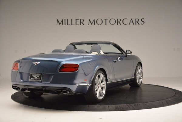 Used 2014 Bentley Continental GT V8 S Convertible for sale Sold at Maserati of Westport in Westport CT 06880 7