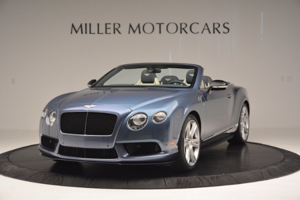 Used 2014 Bentley Continental GT V8 S Convertible for sale Sold at Maserati of Westport in Westport CT 06880 1
