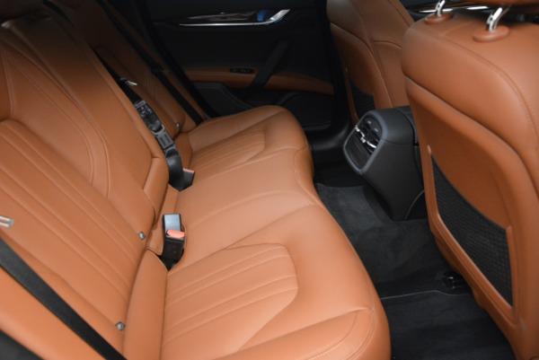 Used 2017 Maserati Ghibli S Q4 EX-LOANER for sale Sold at Maserati of Westport in Westport CT 06880 24