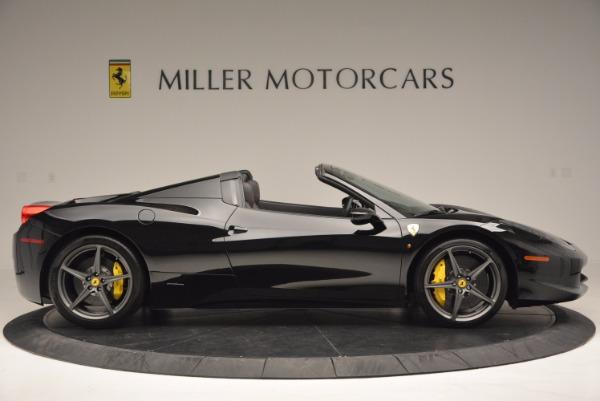 Used 2014 Ferrari 458 Spider for sale Sold at Maserati of Westport in Westport CT 06880 9