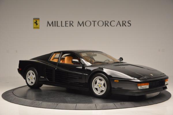 Used 1989 Ferrari Testarossa for sale Sold at Maserati of Westport in Westport CT 06880 10