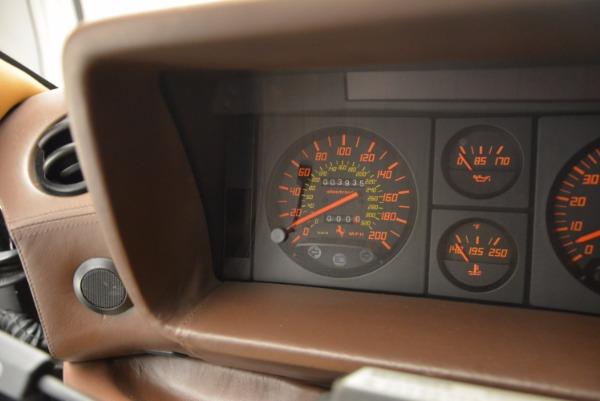 Used 1989 Ferrari Testarossa for sale Sold at Maserati of Westport in Westport CT 06880 20