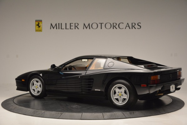 Used 1989 Ferrari Testarossa for sale Sold at Maserati of Westport in Westport CT 06880 4