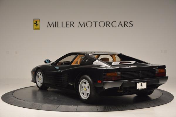 Used 1989 Ferrari Testarossa for sale Sold at Maserati of Westport in Westport CT 06880 5