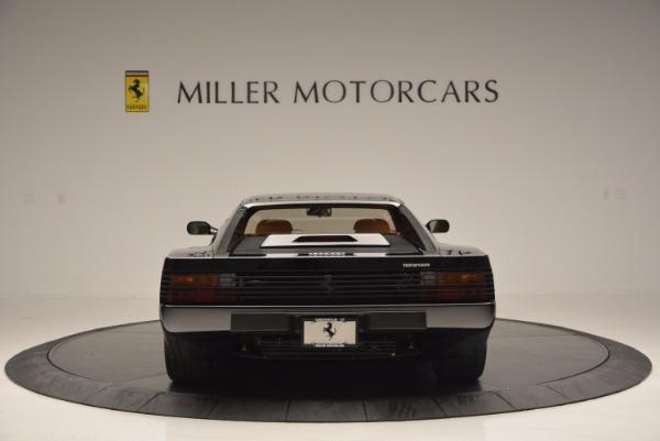 Used 1989 Ferrari Testarossa for sale Sold at Maserati of Westport in Westport CT 06880 6