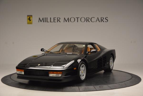 Used 1989 Ferrari Testarossa for sale Sold at Maserati of Westport in Westport CT 06880 1