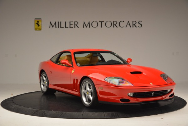 Used 2000 Ferrari 550 Maranello for sale Sold at Maserati of Westport in Westport CT 06880 11