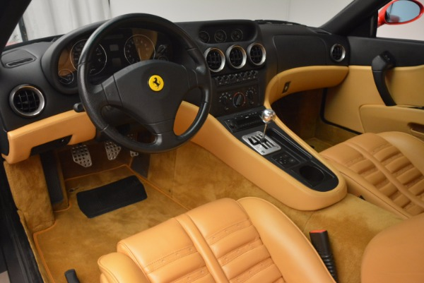Used 2000 Ferrari 550 Maranello for sale Sold at Maserati of Westport in Westport CT 06880 13