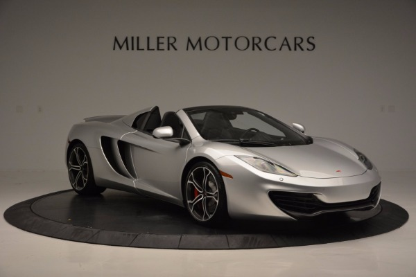 Used 2014 McLaren MP4-12C Spider for sale Sold at Maserati of Westport in Westport CT 06880 10