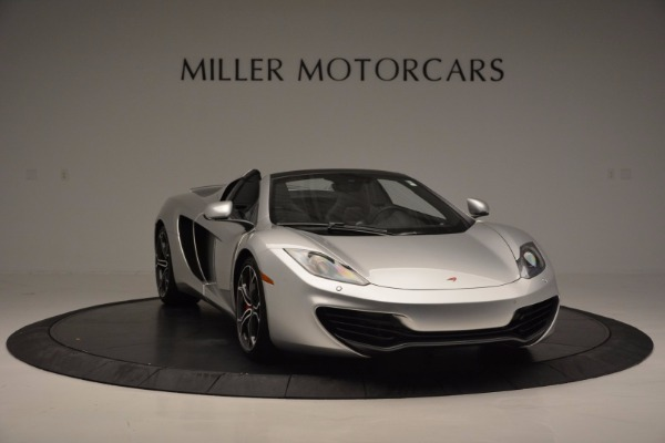 Used 2014 McLaren MP4-12C Spider for sale Sold at Maserati of Westport in Westport CT 06880 11