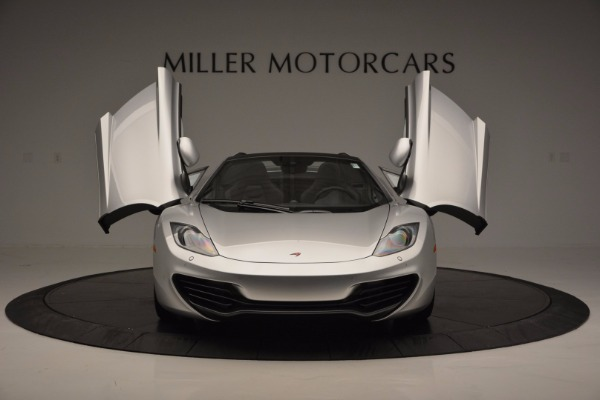 Used 2014 McLaren MP4-12C Spider for sale Sold at Maserati of Westport in Westport CT 06880 13