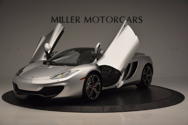 Used 2014 McLaren MP4-12C Spider for sale Sold at Maserati of Westport in Westport CT 06880 14
