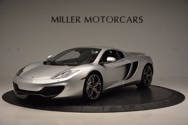Used 2014 McLaren MP4-12C Spider for sale Sold at Maserati of Westport in Westport CT 06880 15