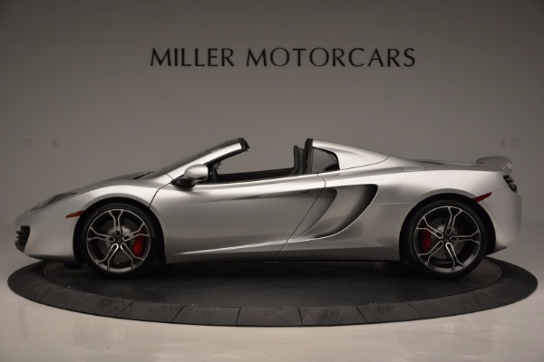 Used 2014 McLaren MP4-12C Spider for sale Sold at Maserati of Westport in Westport CT 06880 3