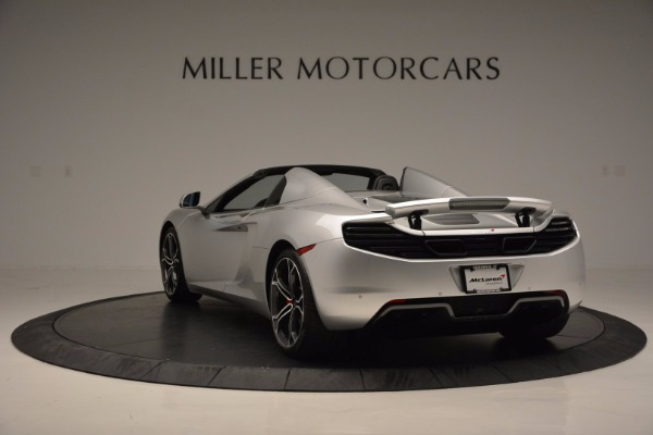Used 2014 McLaren MP4-12C Spider for sale Sold at Maserati of Westport in Westport CT 06880 5