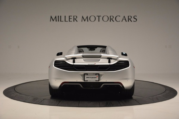 Used 2014 McLaren MP4-12C Spider for sale Sold at Maserati of Westport in Westport CT 06880 6