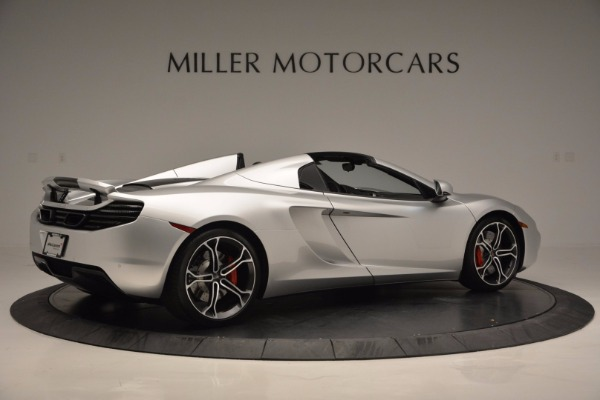 Used 2014 McLaren MP4-12C Spider for sale Sold at Maserati of Westport in Westport CT 06880 8