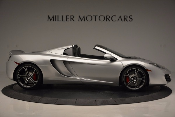 Used 2014 McLaren MP4-12C Spider for sale Sold at Maserati of Westport in Westport CT 06880 9