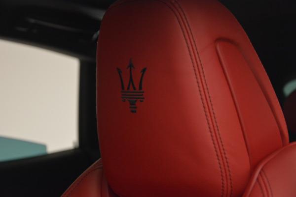 Used 2017 Maserati Levante Ex Service Loaner for sale Sold at Maserati of Westport in Westport CT 06880 16