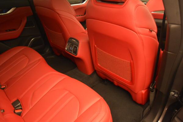 Used 2017 Maserati Levante Ex Service Loaner for sale Sold at Maserati of Westport in Westport CT 06880 24