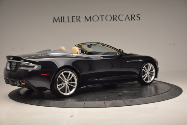 Used 2012 Aston Martin DBS Volante for sale Sold at Maserati of Westport in Westport CT 06880 8