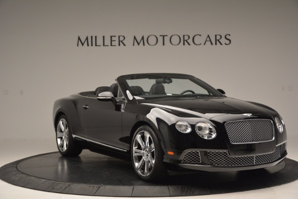 Used 2013 Bentley Continental GTC for sale Sold at Maserati of Westport in Westport CT 06880 12